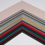 Fertig-Passepartout -  BlackCore 1,4 Wei?   13x18 cm (9x13 cm)
