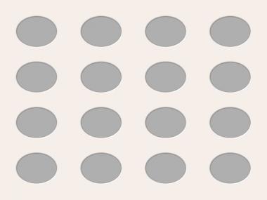 Ovale Ausschnitte 60x80 cm