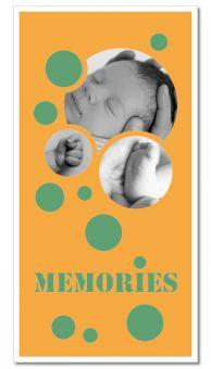 """Themen-Passepartout ""Memories"""" 30x60 cm | ohne Rahmen"
