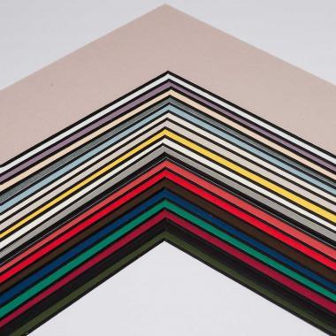 Individueller Ausschnitt -  BlackCore 1,4 Wei? | 13x18 cm