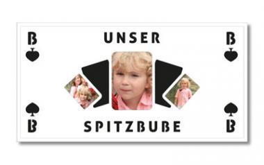 """""""Themen-Passepartout """"Spitzbube"""""""" 30x60 cm   ohne Rahmen"""