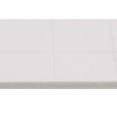 Selbstklebende Rückwand, 1,5 mm Weiß