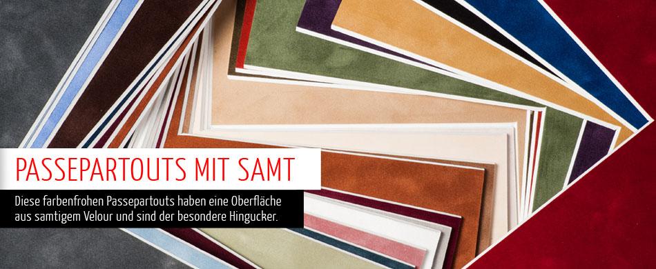 Samt-Passepartouts